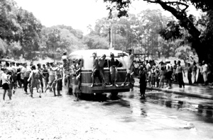 Water Festival Park Road, Rangoon, 1951